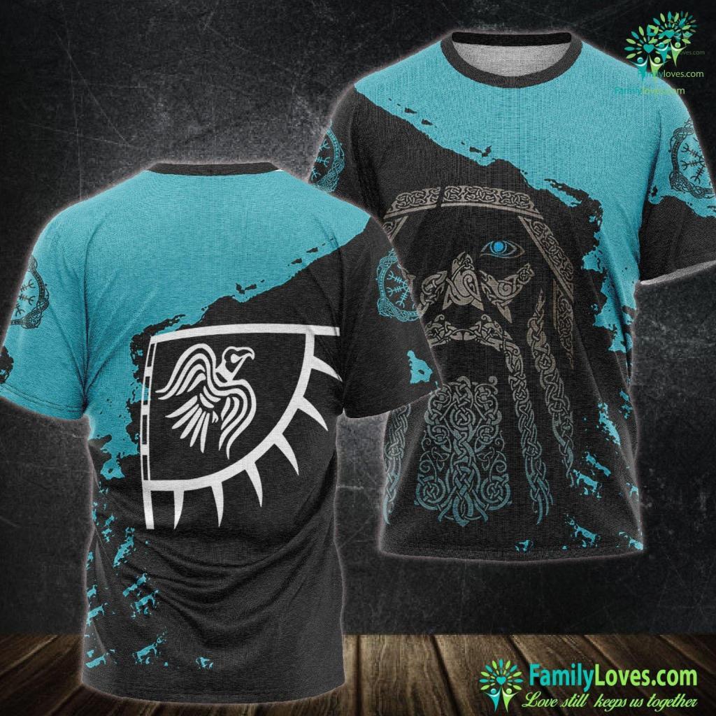 Danish Vikings Dynasty Of Ivar Norse Viking Dublin Ui Imair Tee Viking Unisex Tshirt All Over Print Familyloves.com