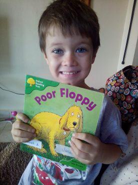 Jacob a confident reader