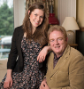 Dr Elizabeth McNaught with her father Nick Pollard thumbnail