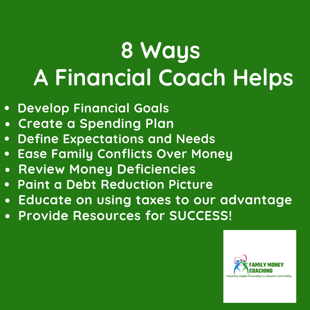 8 ways a financial coach helps