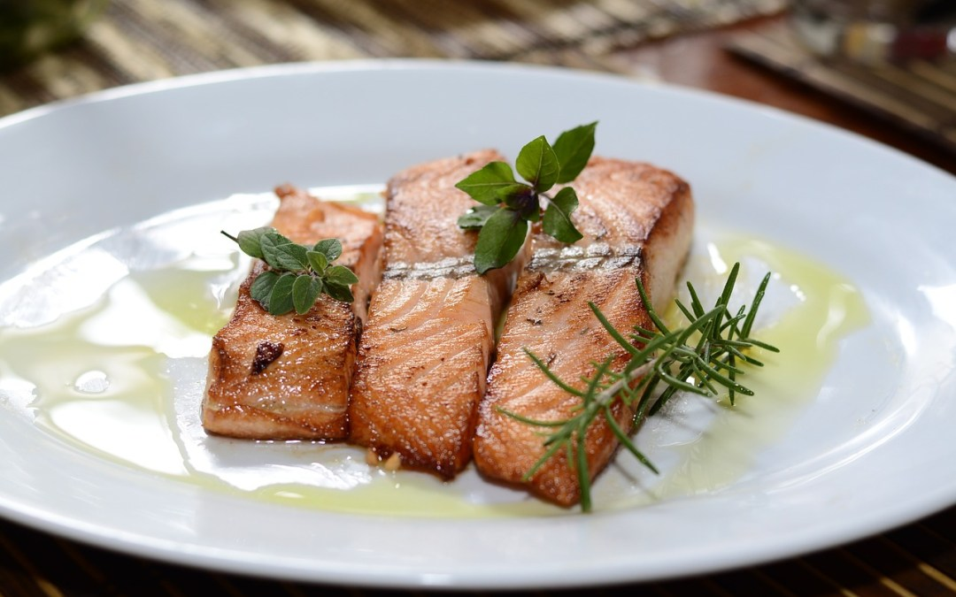 El éxito del salmón con soja