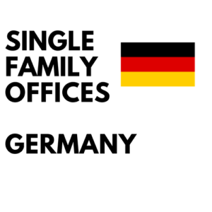database of lists of single-family offices in Germany