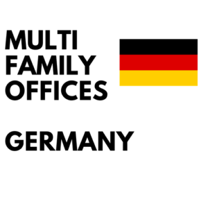 List of multifamily offices in Germany
