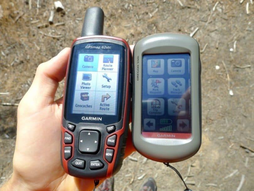 GPS Display Sizes