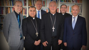 Archbishop of Westminster's call to save religious diversity in the region