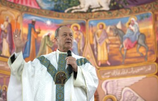 French Bishop talks about his 24 hours in Gaza