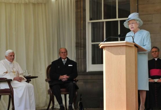 The Queen's Speech To Pope Benedict