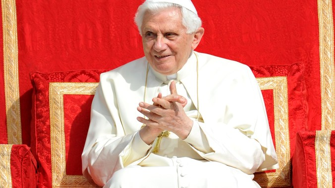 Pope Benedict's address at the 'Big Assembly'