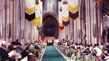 Pope John Paul II at Southwark's Cathedral