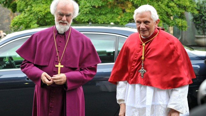 Archbishop of Canterbury's Speech to Pope Benedict