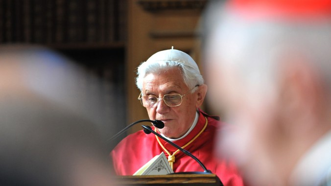 Pope Benedict's address to the Archbishop of Canterbury