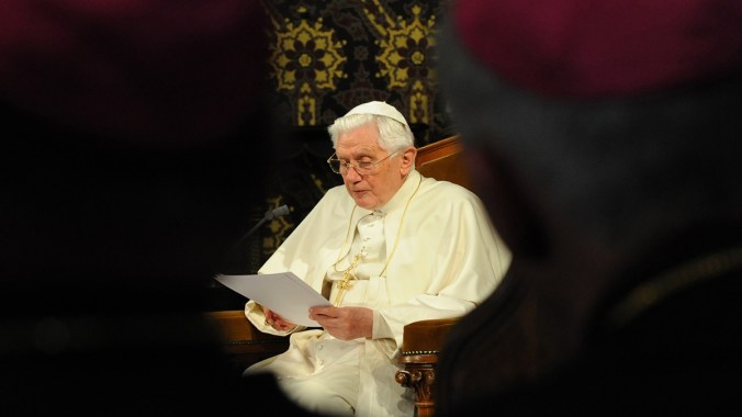 Pope Benedict's Address at Oscott College