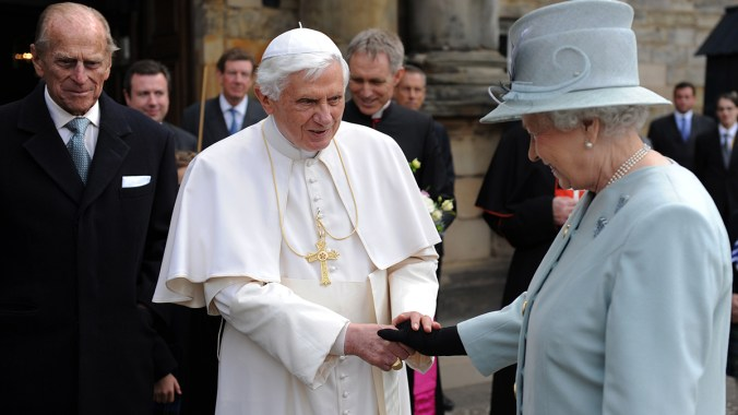 The Queen's Speech To Pope Benedict