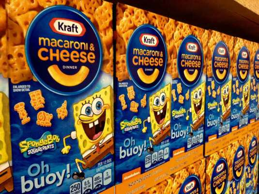 Kraft Mac and Cheese no artificial flavors