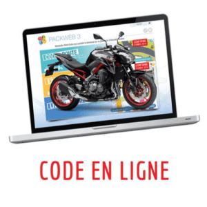 Code en ligne – MOTO – 3 mois
