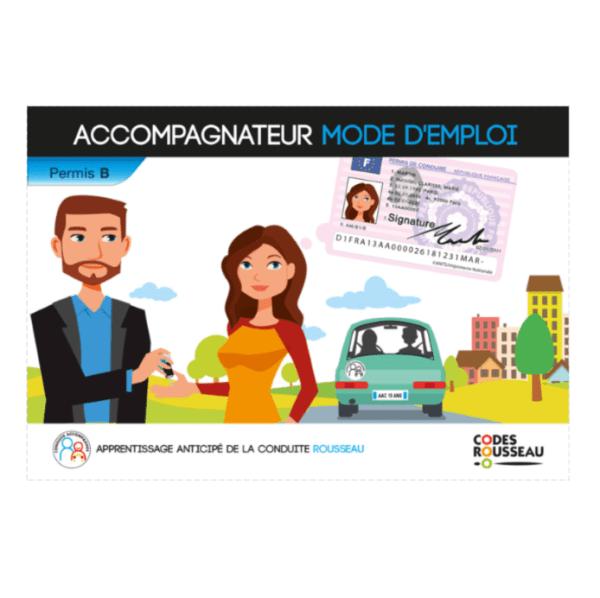 Guide accompagnateur Conduite Accompagnée FAMILY PERMIS