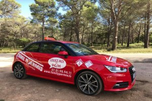 Location de voiture auto école double commande à Marseille