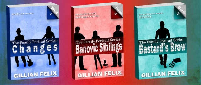 3 novels by Gillian Felix