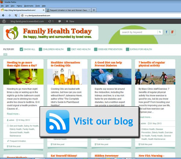 Visit Our Blog - Family Health Today