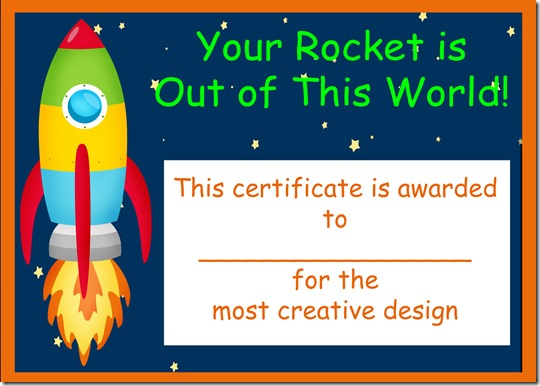 Rocket creative award