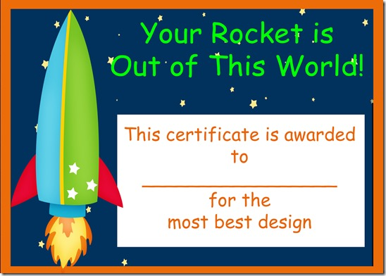 rocket best award