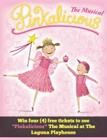 """Giveaway: 4 Free Tickets To """"Pinkalicious"""" The Musical ends 11/1/14"""