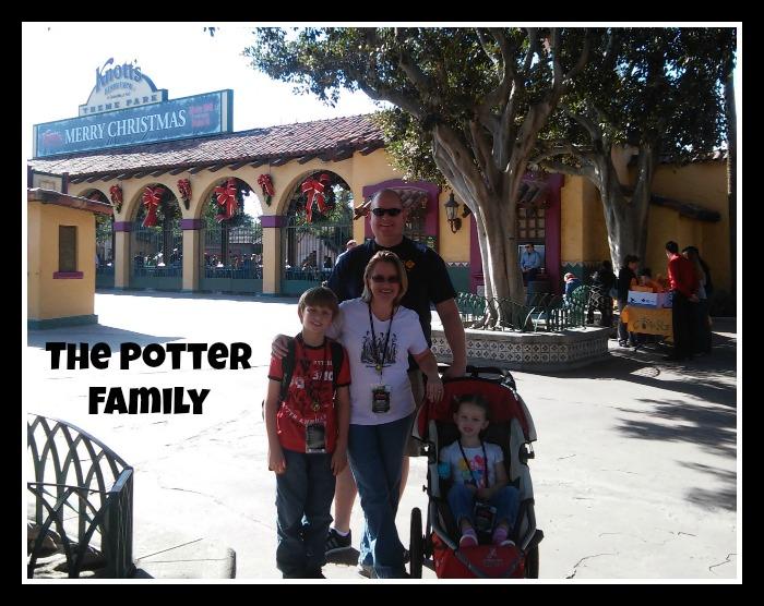 Knotts Merry Farm Potter Family