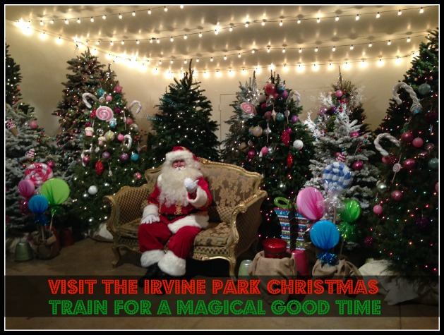 irvine park christmas train is a magical time family review guide - Irvine Christmas Train