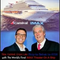 "Carnival Cruise Ship ""Vista"" to Debut in 2016"