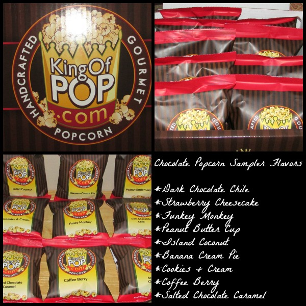 Gourmet Gift Baskets Chocolate popcorn sampler