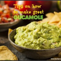 Tips on how to make great guacamole