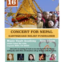 Benefit Concert For Nepal Earthquake Victims