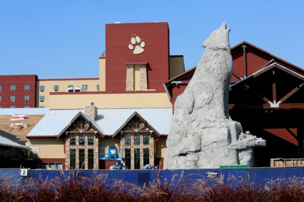 great wolf lodge external view - Great Wolf Lodge Garden Grove