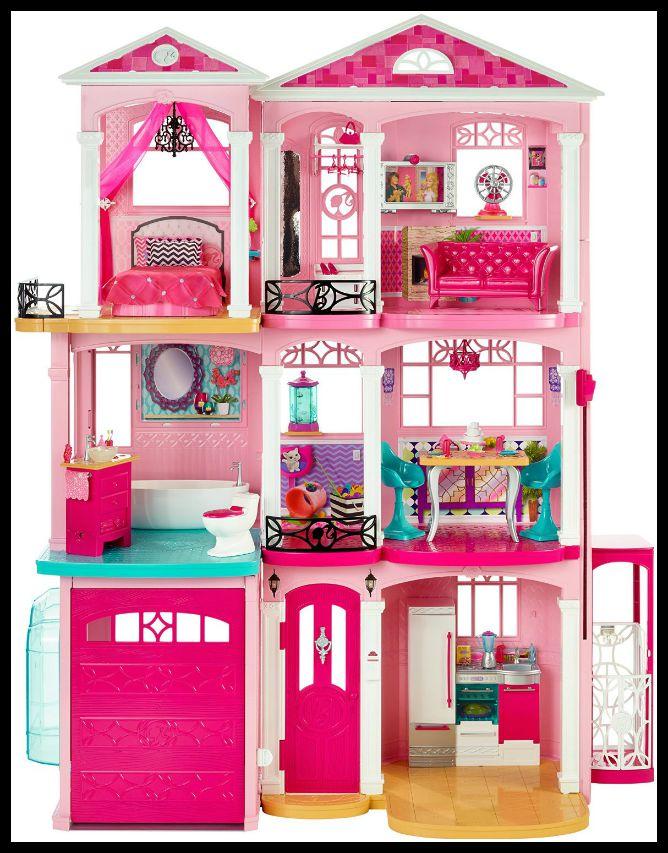 A Girls Dream Come True The Barbie Dream House Family Review Guide