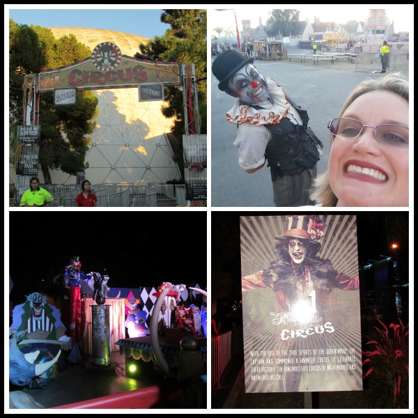 Dark Harbor at the Queen Mary Circus
