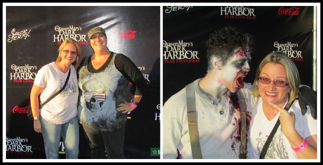 Dark Harbor at the Queen Mary Kristen and I