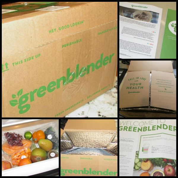 Greenblender unboxing
