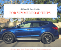 3 Ways To Save On Fuel for Summer Road Trips