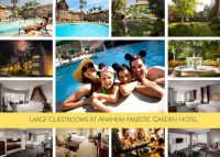 Large Guestrooms At Anaheim Majestic Garden Hotel