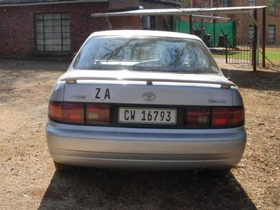 Auto von hinten