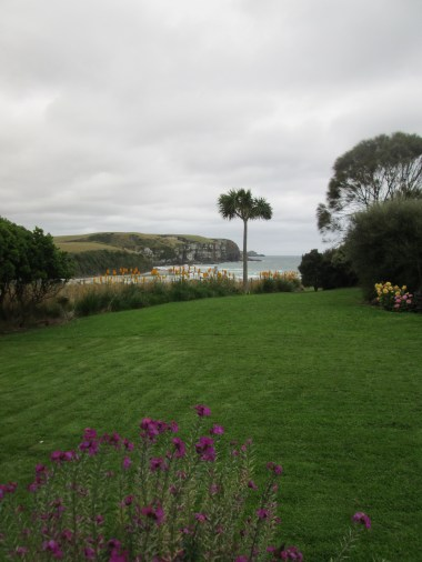 Front lawn and view at Jack's Bay