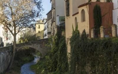 Paseo de los Tristes y Carrera del Darro en Granada
