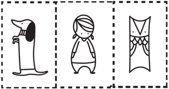 Personajes para teatro de títeres de papel