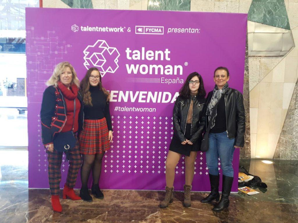 Madres e hijas en el photocall de Talent Woman 2018