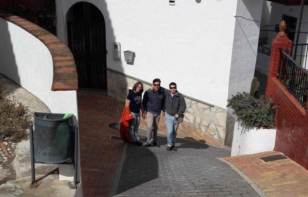 Subida al Mirador de los Barcos en Iznate, Málaga