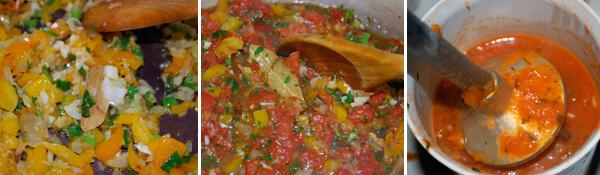 Brazilian Seafood Stew (Moqueca de Peixe)  Detail