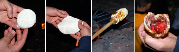 Campfire Éclairs  Detail