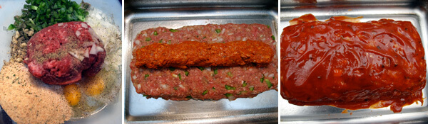 Meat Loaf With Chorizo Detail