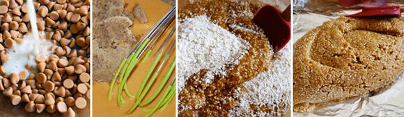 Oatmeal Butterscotch Bars  Detail