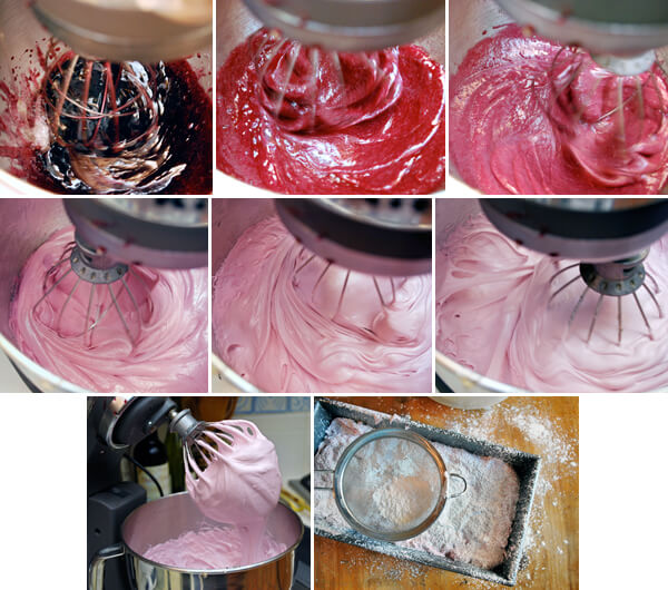 Pomegranate Marshmallows Detail